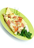 Bacon Omelet Stock Images