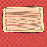 Bacon Package Royalty Free Stock Photo