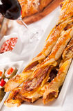 Bacon and pastry Stock Images