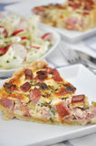 Bacon Quiche Stock Photos