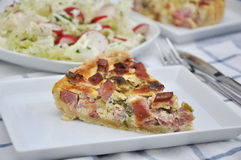 Bacon Quiche Stock Images