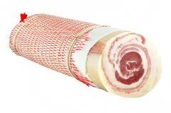 Bacon rolado Imagens de Stock