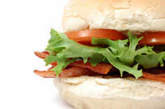Bacon roll stock image