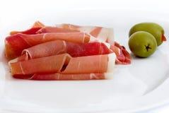 Bacon saboroso Fotos de Stock