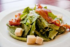 Bacon salad Stock Images
