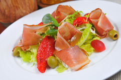 Bacon Salad Royalty Free Stock Images