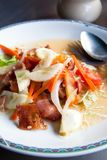 Bacon salad (Thai style) Royalty Free Stock Image