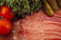 Bacon/salpicadura de Tiroler imagens de stock