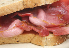 Bacon Sandwich Stock Photography