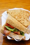 Bacon sandwich Royalty Free Stock Images