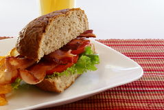 Bacon Sandwich Royalty Free Stock Photography