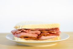 Bacon Sandwich Stock Photos
