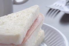 Bacon sandwich. Royalty Free Stock Photo