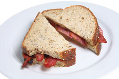 Bacon Sarnie Stock Photo