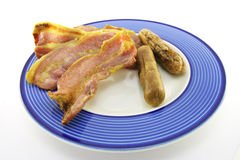 Bacon and Sausage Royalty Free Stock Images