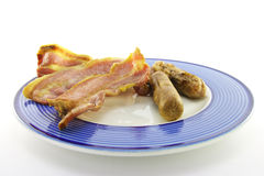 Bacon and Sausage Royalty Free Stock Image