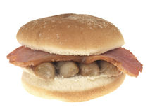 Bacon and Sausage Roll Royalty Free Stock Photo