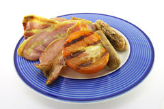 Bacon, Sausage and Tomato Stock Photo