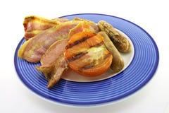 Bacon, Sausage and Tomato Stock Photo