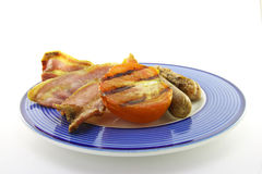 Bacon, Sausage and Tomato Stock Photography