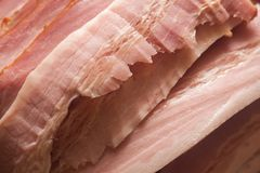 Bacon slices Stock Images