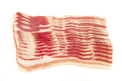 Bacon slices Royalty Free Stock Images