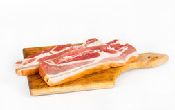 Bacon slices Royalty Free Stock Photo