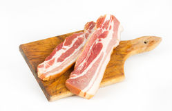 Bacon slices Stock Image