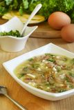 Bacon soup Royalty Free Stock Images