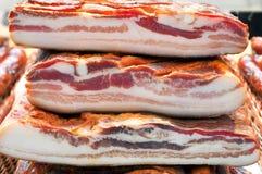 Bacon stack stock photos