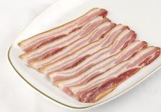 Bacon streaky fumado fotografia de stock royalty free