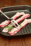 Bacon strips Stock Photo