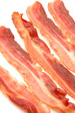 Bacon strips fried Stock Photo