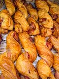Bacon Twist delious. royalty free stock photo