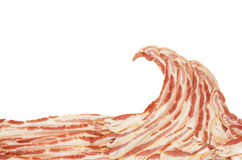 Bacon Wave Stock Image