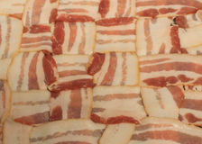 Bacon weave - Stock Images