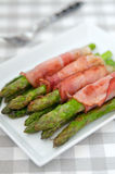 Bacon Wrapped Asparagus Stock Photos