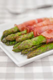 Bacon Wrapped Asparagus Royalty Free Stock Photo