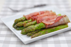 Bacon Wrapped Asparagus Royalty Free Stock Image