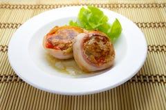Bacon-wrapped pork Royalty Free Stock Photo