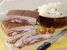 baconchoucroute Arkivbild