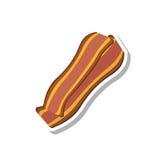 Baconpictogram stock afbeeldingen