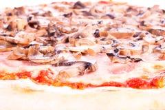 baconpizzarucola Arkivfoton