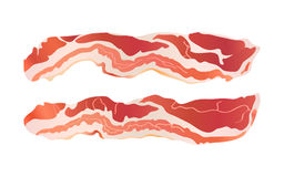 baconremsor vektor illustrationer