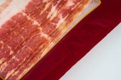 Bacons in plastic pak stock fotografie