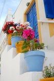 Bacs colorés Photographie stock libre de droits