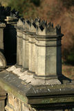 Bacs de cheminée victoriens Photo libre de droits