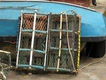 Bacs de langoustine à Brighton Photographie stock