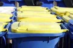 Bacs de recyclage, Brême, Allemagne Photographie stock libre de droits