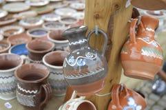 Bacs en céramique Image stock